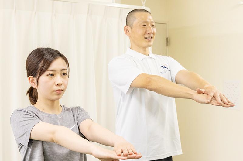 施術から身体強化までを一貫して行います